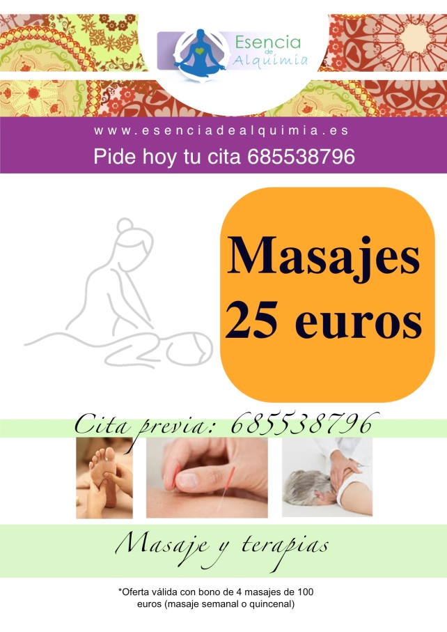 oferta masaje septiembre